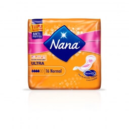 Serviettes hygiéniques Ultra Normal Nana