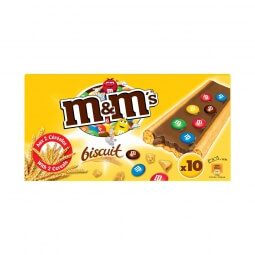 Biscuits chocolat au lait M&M's M&M's