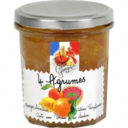 Confiture 4 agrumes Lucien Georgelin