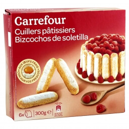 Biscuits cuillers pâtissiers Carrefour