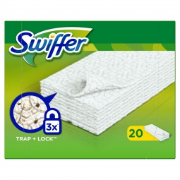 Lingettes sèches pour le balai Sweeper Swiffer