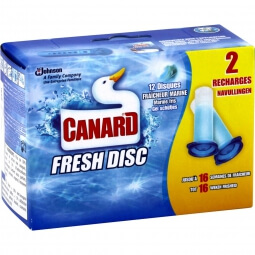 Gel WC recharges disques marine Canard