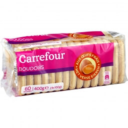 Biscuits boudoirs Carrefour