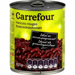 Haricots rouges  Carrefour
