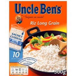 Riz long grain 10 min Uncle Ben's