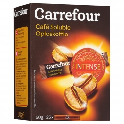 Café soluble Carrefour 50g