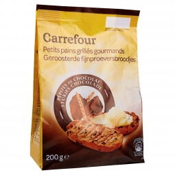 Petits Pains Grillés Gourmands Choco Carrefour