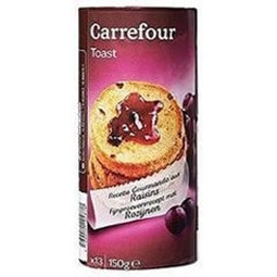 Toasts aux raisins Carrefour