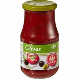 Sauce olives Carrefour