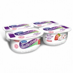 Fromage blanc fraise 0% MG Taillefine
