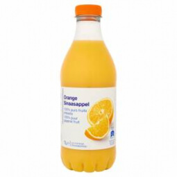 Jus d'orange 100% purs fruits pressés